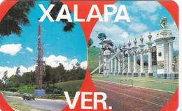 TORRE SINETICA/COLUMNAS DEL ESTADIO. MULTI VISTA VIEW VUE. MF. CIRCA 1965. MEXICO- BLEUP - Mexico
