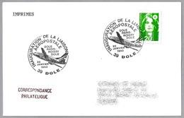 INAUGURACION LINEA AEROPOSTAL DOLE-PARIS ROISSY-DOLE. Dole 1993 - Correo Postal