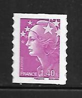 A262  Adhésif N°490 Marianne De Beaujard N** - Luchtpost