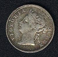 Hongkong, 5 Cents 1901, Silber - Hong Kong