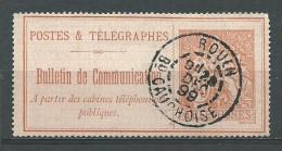 FRANCE: Obl., TELEPH., N°18, TB - Telegraph And Telephone