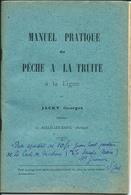Brochure Manuel Pratique Pêche à La Truite JACKY Georges Aulus-les-Bains Ariège - 1901-1940
