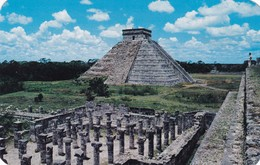 EL CASTILLO. CHICHEN ITZA, YUCATAN. CIRCA 1965. MEXICO- BLEUP - Mexico