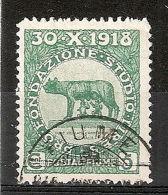 1919 FIUME USATO PLEBISCITO 5 CENT - RR7556 - 8. WW I Occupation