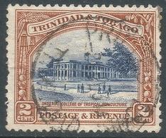 Trinidad & Tobago. 1935-37 Definitives. 2d Used. P13X12½ SG 231a - Trinidad & Tobago (...-1961)