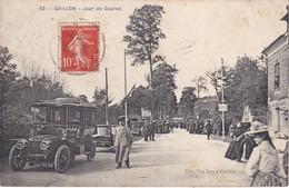 GAILLON - Jour De Course - Belle Voiture Ancienne - Animé - Frankreich