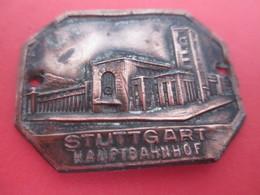 Insigne Marche Randonnée/ Écusson Souvenir De Canne De Marche/STUTTGART/Hauptb Bahnhof/ /Vers 1900-1930    MED291 - Deportes