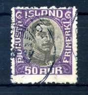 1920-30 ISLANDA SERVIZIO N.39 USATO - Servizio