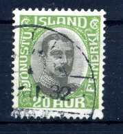 1920-30 ISLANDA SERVIZIO N.38 USATO - Servizio