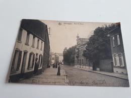 GENAPPE  Rue De Mons   Animée Oblitérée En 1919 - Genappe