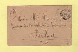 Tresor Et Postes 20 - 107eme Regiment Territorial D Infanterie - 13 Sept 1916 - Postmark Collection (Covers)