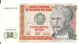 PEROU 50 INTIS 1987 UNC P 131 B - Pérou