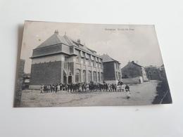 GENAPPE  Ecole St Jean   Animée Oblitérée En 1919 Pli - Genappe