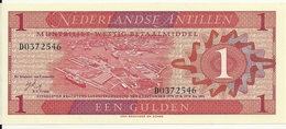 ANTILLES NEERLANDAISES 1 GULDEN 1970 UNC P 20 - Nederlandse Antillen (...-1986)