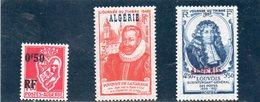 ALGERIE 1946-7 * - Unused Stamps