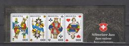 Schweiz  **    2565-2568 Schweizer Jass Neuausgabe 6.9.18 - Nuevos