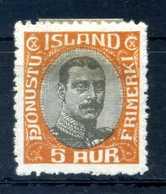 1920-30 ISLANDA SERVIZIO N.35 (*) - Servizio