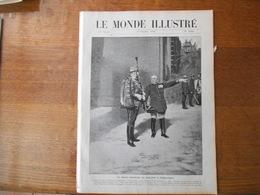 """LE MONDE ILLUSTRE N°2688 DU 3 OCTOBRE 1908 LE PRINCE FERDINAND DE BULGARIE,AU JAPON,LA CATASTROPHE DU""""LATOUCHE-TREVILLE"""" - Libros, Revistas, Cómics"""