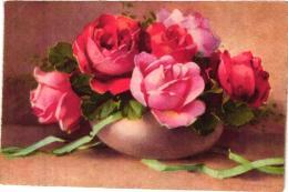 POT DE ROSES STYLE  KLEIN REF 57003 - Fiori