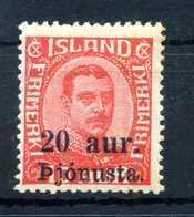 1922-23 ISLANDA SERVIZIO N.41 * - Servizio