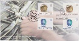 New Zealand 2002 Art Meets Craft,joint Issue With Sweden FDC, - FDC