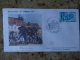 1er Jour Rodez Aveyron Journee Du Timbre 1973 - FDC