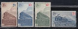 1944  YVERT Nº 212 / 215   /**/ - Parcel Post