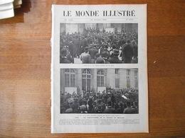 LE MONDE ILLUSTRE N°2700 DU 26 DECEMBRE 1908 DESSINS DE B.RABIER,OUVERTURE DU PARLEMENT EN TURQUIE,SAINT PIERRE ET MIQUE - 1900 - 1949