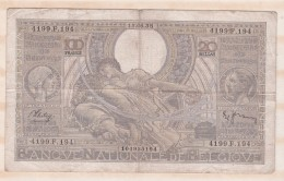 Belgique 100 FRANCS / 20 BELGAS  15. 06 1938. - 100 Francs & 100 Francs-20 Belgas