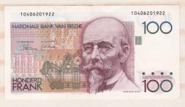 Belgique 100 FRANCS  HENDRIK BEYAERT. Superbe - 100 Franchi