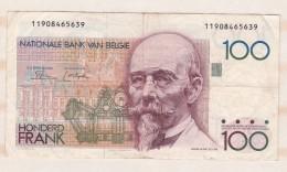 Belgique 100 FRANCS  HENDRIK BEYAERT. - 100 Frank
