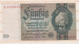 Allemagne . 50 Reichsmark 1933 - 50 Mark