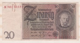 Allemagne . 20 Reichsmark 1929 - [ 3] 1918-1933 : République De Weimar