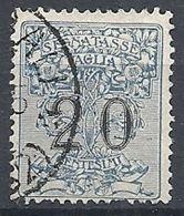 1924 REGNO USATO SEGNATASSE PER VAGLIA 20 CENT - RR12938 - 1900-44 Victor Emmanuel III.