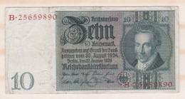 Allemagne . 10 Reichsmark 1929 - 10 Mark