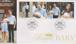 New Zealand 2013 Royal Baby FDC - FDC