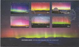 New Zealand 2017  Southern Lights FDC - FDC