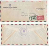 1955 PANAMA Cover MINISTRY Of CANAL ZONE INTERNATIONAL ORG To UN LEGAL COUNCIL USA United Nations Stamps - Panama