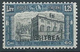 1927 ERITREA MILIZIA 1,25 LIRE MNH ** - RR13598-2 - Eritrea