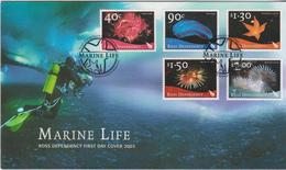 New Zealand Ross Dependency 2003 Marine Life FDC - FDC