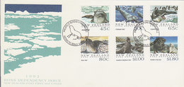 New Zealand Ross Dependency 1992 Seals FDC - FDC