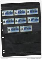 ISRAEL,2012,ATM LABELS, DOLPHINS, MNH , 8v - Dolphins