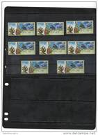 ISRAEL,2012,ATM LABELS, CORALS, MNH , 8v - Marine Life