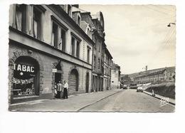 ALGRANGE - Rue De Gaulle Et Terre Rouge , Cpsm Pt Format - Frankreich