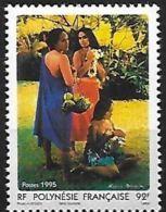 """Polynésie YT 474 """" Année Du Tourisme """" 1995 Neuf** - French Polynesia"""