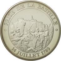France, Médaille, Révolution Française, Prise De La Bastille, FDC - France