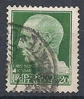 1929-42 REGNO USATO IMPERIALE 20 LIRE - RR12965 - Oblitérés