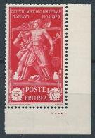 1930 ERITREA PRO ISTITUTO AGRICOLO COLONIALE 5 LIRE LUSSO MNH ** - RR13603 - Eritrea