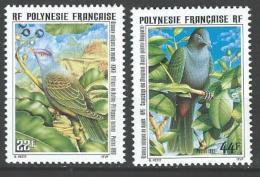 """Polynésie YT 479 Et 480 """" Oiseaux Uniques Au Monde """" 1995 Neuf** - French Polynesia"""