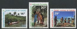 """Polynésie YT 480A à 480C """" Journée Du Tourisme """" 1995 Neuf** - Neufs"""
